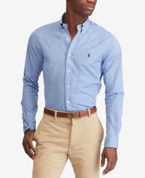 Polo Ralph Lauren Men's Classic Fit Stretch Poplin Shirt