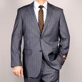 Fiorelli Giorgio Gray Striped 2-Button Suit