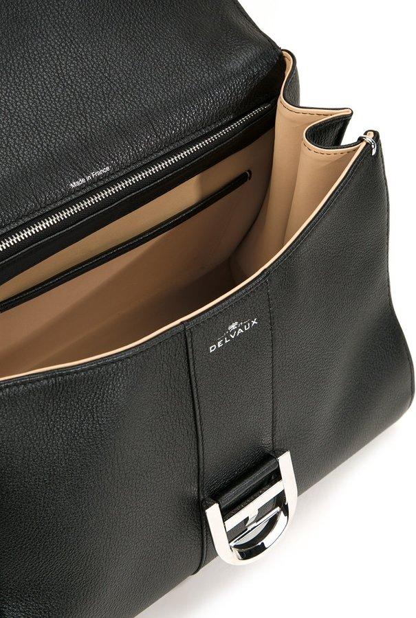 Delvaux buckle detail tote bag
