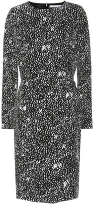 Givenchy Leopard silk crepe dress