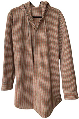 Acne Studios Orange Polyester Coats