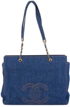 Chanel Pre-Owned 1996-1997 Jumbo denim shopping bag