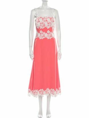 Lela Rose 2020 Midi Length Dress w/ Tags Rose