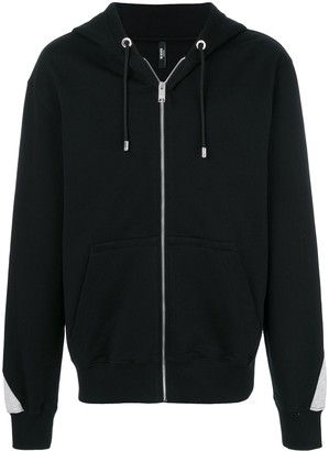 Versus Rear Logo Hooded Jacket