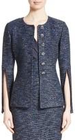St. John Women's Alisha Sparkle Tweed Jacket