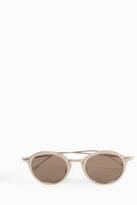 THOM BROWNE EYEWEAR Round Lens Sunglasses