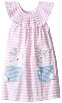 Mud Pie Bunny Pocket Dress (Infant)