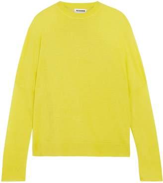 Jil Sander Linen, Cashmere And Silk-blend Sweater
