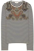 Etro Striped cotton top