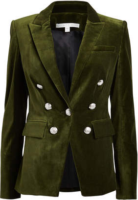 Veronica Beard Lawrence Velvet Dickey Blazer