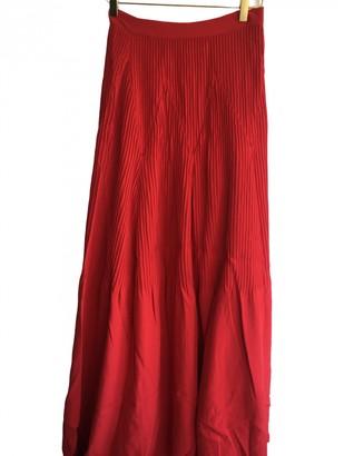 Brandon Maxwell Red Skirt for Women