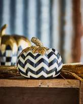 Mackenzie Childs MacKenzie-Childs Small Chevron Pumpkin