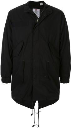 Supreme fishtail parka jacket