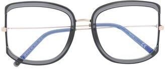 Tom Ford Oversized Square Frame Glasses