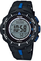 Casio Pro Trek Tough Solar Triple Sensor Mens World Time Watch PRG300-1A2CR