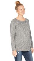 Motherhood Embellished Maternity Sweatshirt