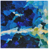 Surya Blue Waters (Canvas)