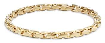 David Yurman Medium Fluted Chain Bracelet in 18K Gold