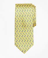 Brooks Brothers Golf Motif Print Tie
