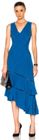 Prabal Gurung Asymmetrical Dress in Blue.