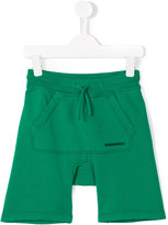 DSQUARED2 drawstring shorts - kids - Cotton - 8 yrs