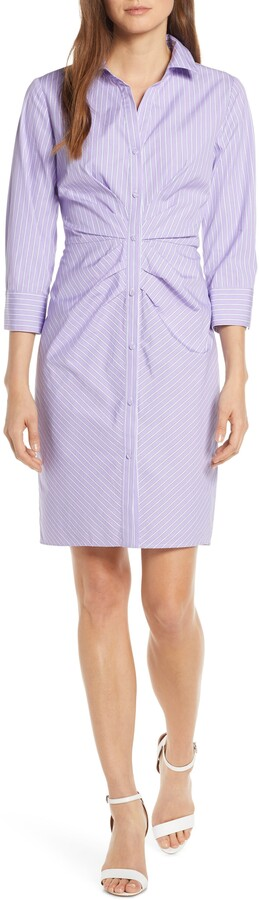Vince Camuto Button Front Shirtdress