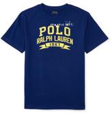 Polo Ralph Lauren Cotton Jersey Graphic Tee (8-14 Years)