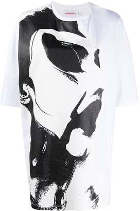 Charles Jeffrey Loverboy paintbrush-print oversized T-shirt