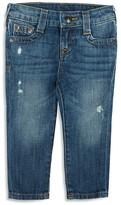 True Religion Infant Boys' Geno Slim Straight Jeans - Sizes 12-24 Months