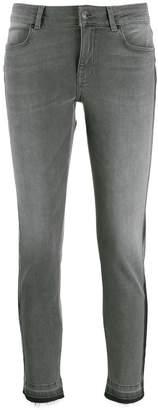 Escada Sport striped skinny jeans