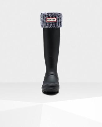Hunter Waffle Cuff Tall Boot Socks