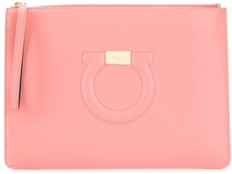Salvatore Ferragamo Gancini City clutch