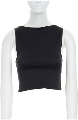 Suno Black Cotton Tops