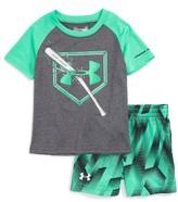 Under Armour Infant Boy's Breaking Bat T-Shirt & Shorts Set