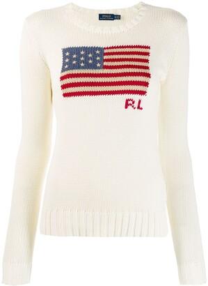 Polo Ralph Lauren U.S.A. flag jumper