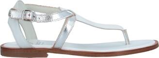 Gallucci Toe strap sandals