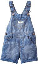 Osh Kosh Baby Girl Patterned Shortalls