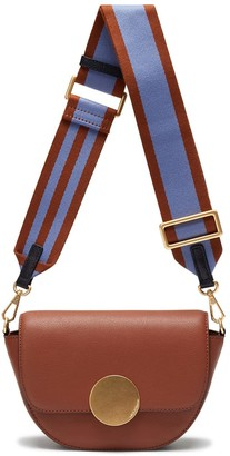 Oryany Lottie Saddle Crossbody - Toffee Tan