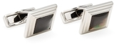 Canali Mother of Pearl Steps Square Cufflinks