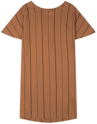 Wemoto Printed Brown Sugar Black Byron Dress - XS - Brown
