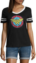 Hybrid Tees Wonder Woman Graphic T-Shirt- Juniors