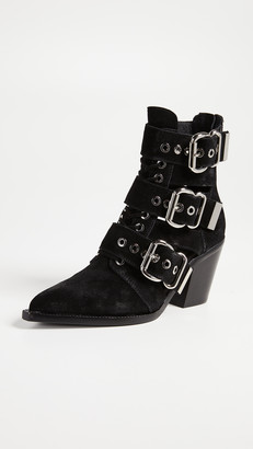Jeffrey Campbell Caceres Buckle Booties