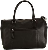 Hadaki Black Valeria's Leather Satchel