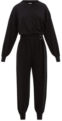 Cordova Corvara Wool-blend Jumpsuit - Black