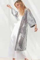 Urban Outfitters Crushed Velvet Kimono