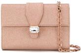 Casadei jewel embellished clutch bag