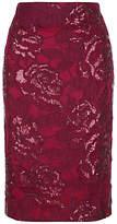 Fenn Wright Manson Petite Volcano Skirt, Red