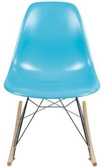 Joseph Allen Rocking Chair Color: Blue
