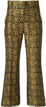 La DoubleJ jacquard trousers