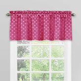 Solar Shield® Kids Theo Rod Pocket Room Darkening Window Valance in Raspberry